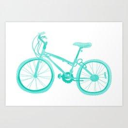 No Mountain Bike Love? Art Print