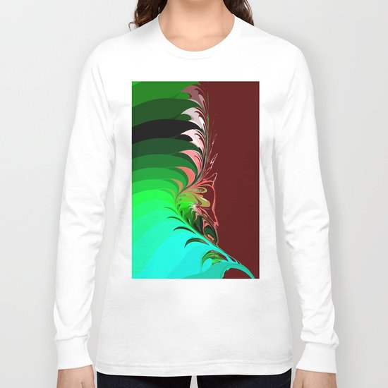 flower leafs Long Sleeve T-shirt