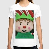 elf T-shirts featuring Vulcan Elf by IowaShots