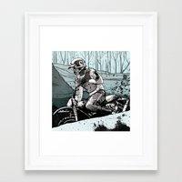 dad Framed Art Prints featuring Dad by jared stumpenhorst