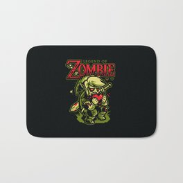 Legend of Zombie Bath Mat