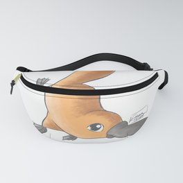 Baby platypus  Fanny Pack
