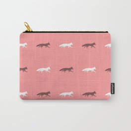 Pink Foxes! Carry-All Pouch