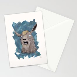 Goats That Scream Like People Stationery Cards