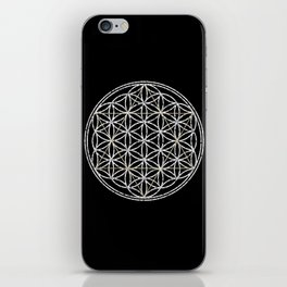 Flower of Life and Star of David iPhone Skin