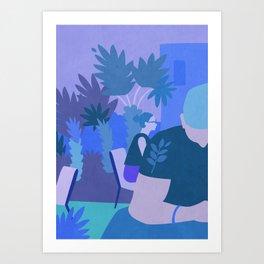 Rambla del Raval Art Print