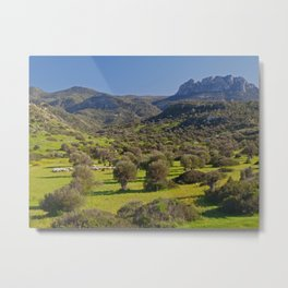 Five Finger Mountain Metal Print
