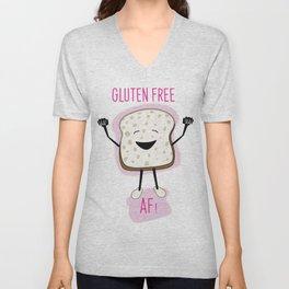 Gluten-Free Bread AF Unisex V-Neck