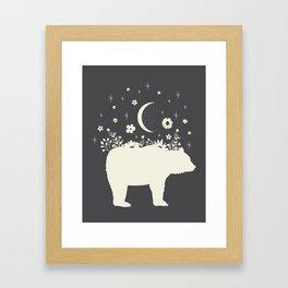 Medicine Bear Framed Art Print