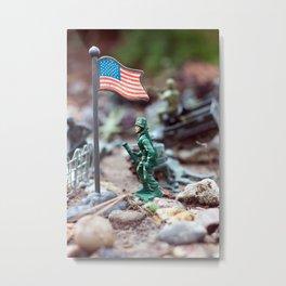 Army Man Metal Print