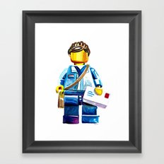 Community 6 Framed Art Print