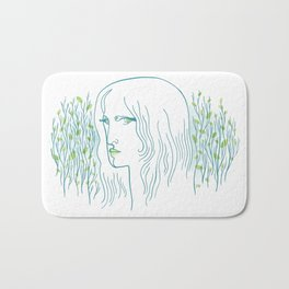Woods Woman 1 Bath Mat