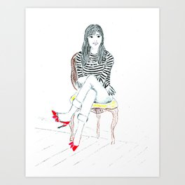 Coquette Art Print