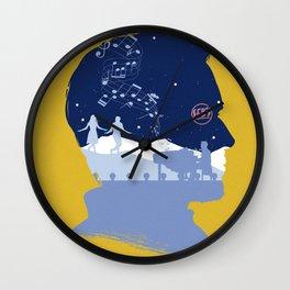 The Many Faces of Cinema: LaLaLand (Sebastian Ver.) Wall Clock