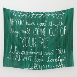 Good Thoughts Wall Tapestry