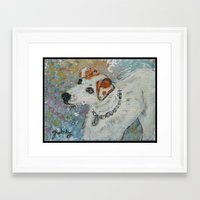virginia Framed Art Prints featuring Virginia by gretzky