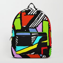 Industrial capital city of lost generation Backpack