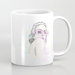 Summer Shades Fashion Illustration Coffee Mug