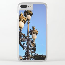 Sunset Light Clear iPhone Case