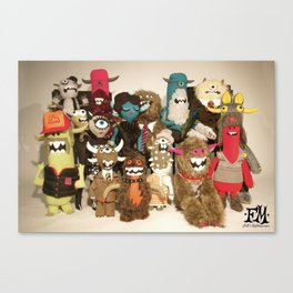 Sgt Felty's Lonely Hearts Club Band Canvas Print