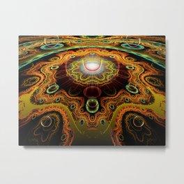 Never Neverland: Cellular Architecture Metal Print
