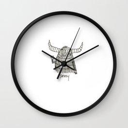 Jonesy Monster Wall Clock