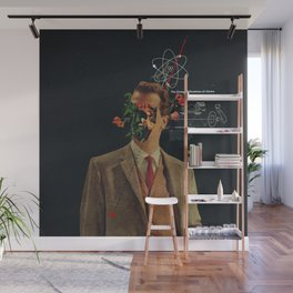 The Energy Vibrations Of Atoms Wall Mural
