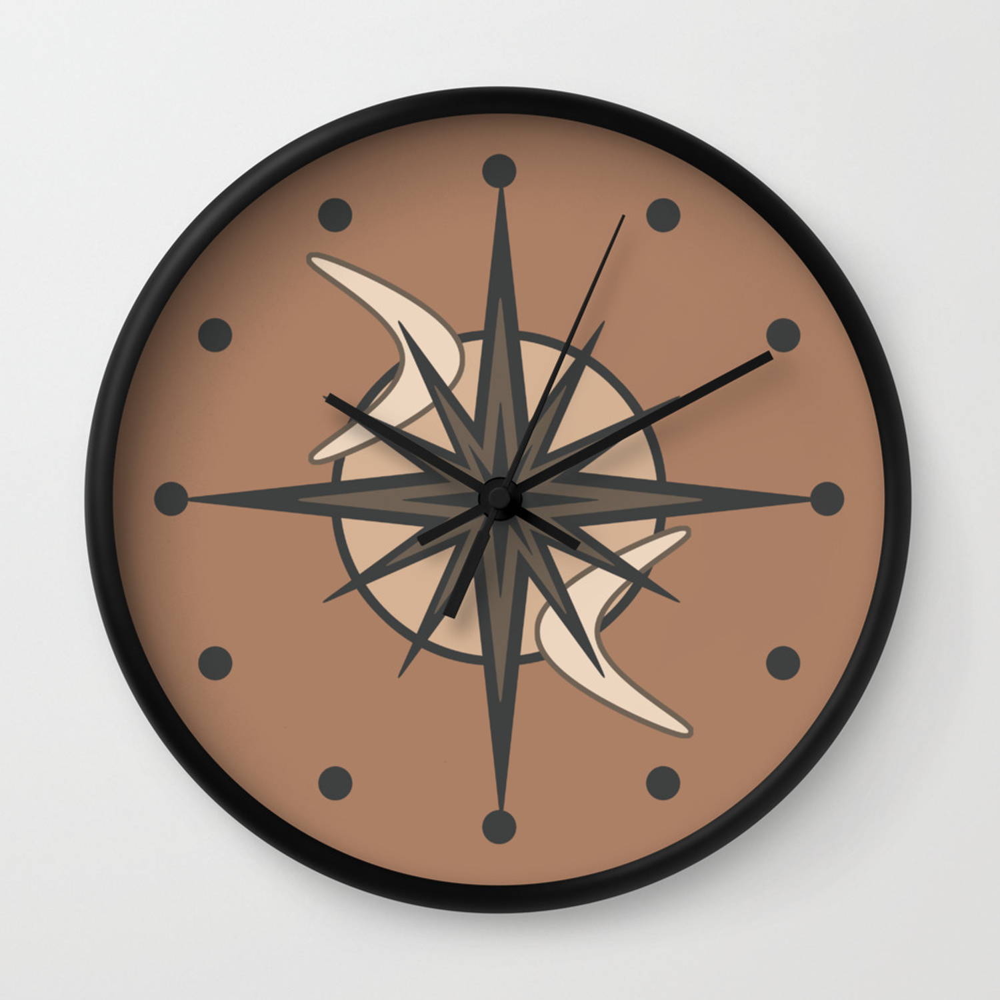 Mid Century Modern Sputnik Starburst