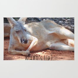 What's Up? Kangaroo Rug
