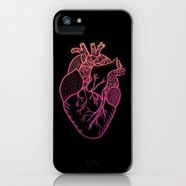 Designer Heart Colors iPhone Case