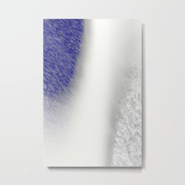 """Between Navy and White"" Metal Print"