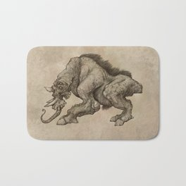 The Beast Bath Mat