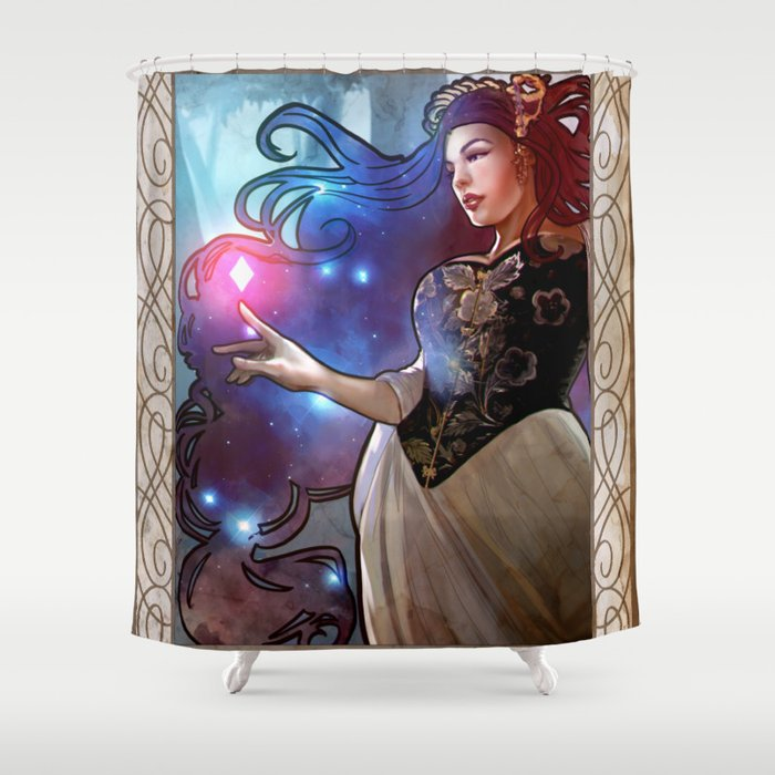 The Bright One Shower Curtain