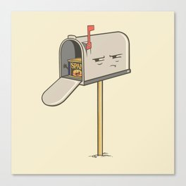 You've Got Spam! Canvas Print