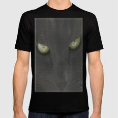 walls have eyes Black SMALL Mens Fitted Tee
