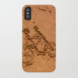 sand bicycle iPhone Case