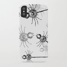 Spiders, spiders, everywhere iPhone Case