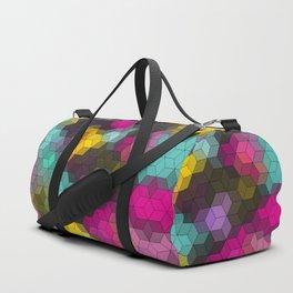 Multi-colored geometric shapes Duffle Bag