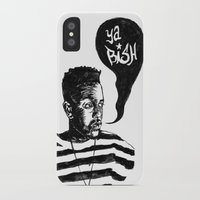 kendrick lamar iPhone & iPod Cases featuring Kendrick Lamar by Paganimal