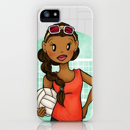 Volleyball Girl iPhone Case
