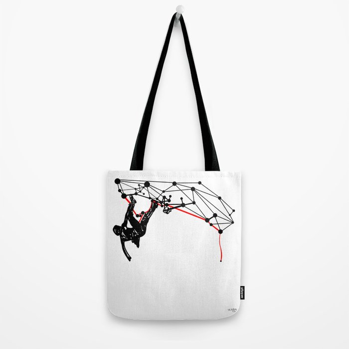the Climber Tote Bag