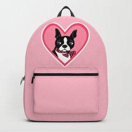 Boston Terrier Love Backpack
