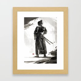 The Way of the Sword Framed Art Print