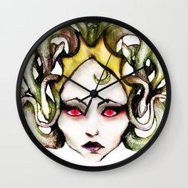 Medusa Gorgon Wall Clock