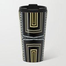 Gold Black Glam ArtDeco X5 Travel Mug
