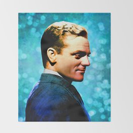 James Cagney, blue screen Throw Blanket