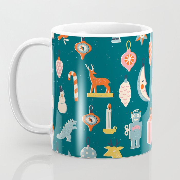 Christmas vintage toys Coffee Mug