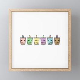 Bubble Tea Framed Mini Art Print