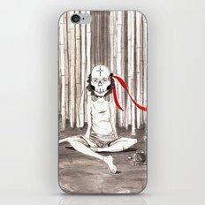 Death Wears a Mask iPhone & iPod Skin