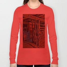 Draft Horse Harness Long Sleeve T-shirt